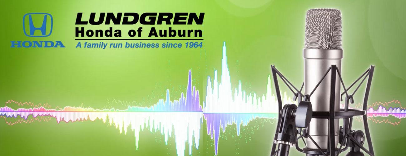 Lundgren Honda of Auburn,MA Radio Commercial