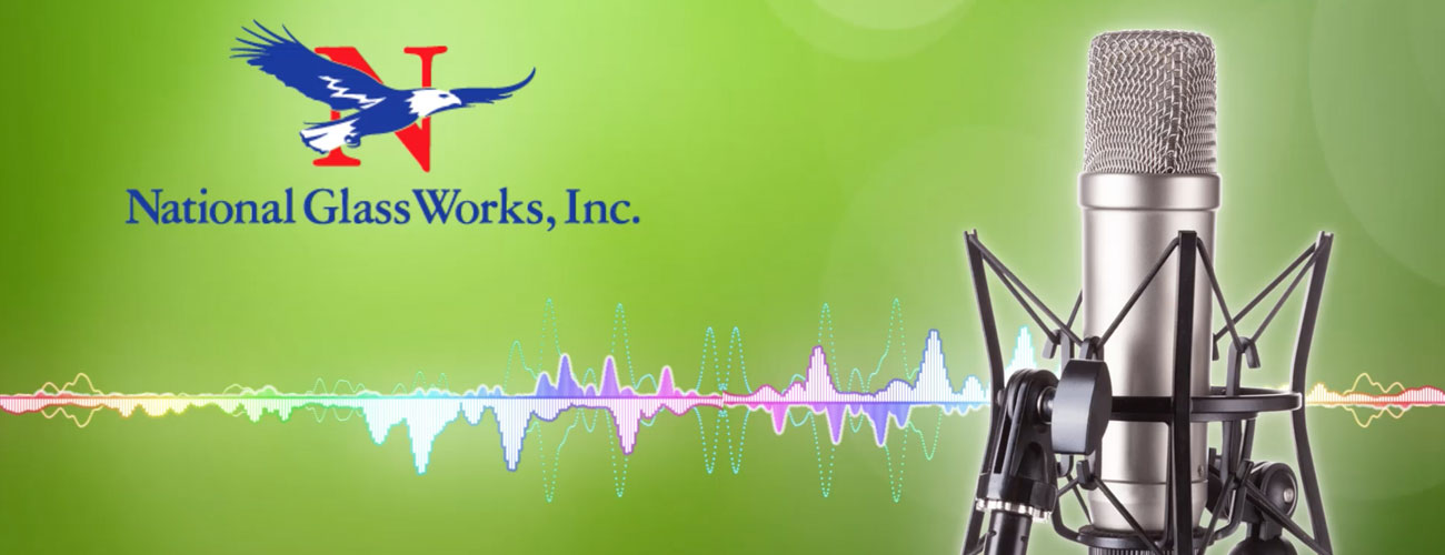 National Glass Works of Worcester, MA Radio Commercial
